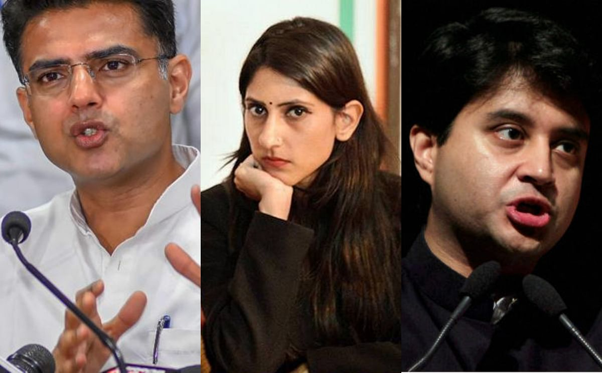 On the same page? How Aditi Singh, Jyotiraditya Scindia, and Sachin Pilot tweeted the same thing