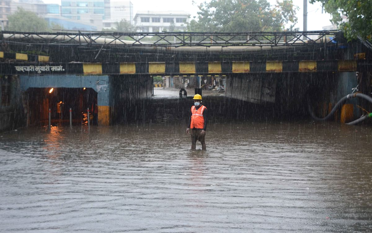 Mumbai Rains: Water logging in 8 spots; IMD issues orange alert for Saturday