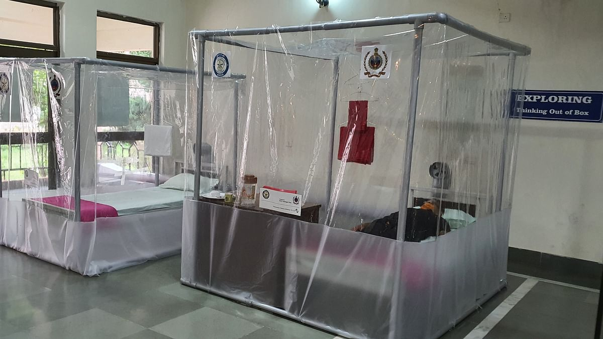 Coronavirus in Pune: DIAT develops low-cost bed isolation system for COVID-19 patients