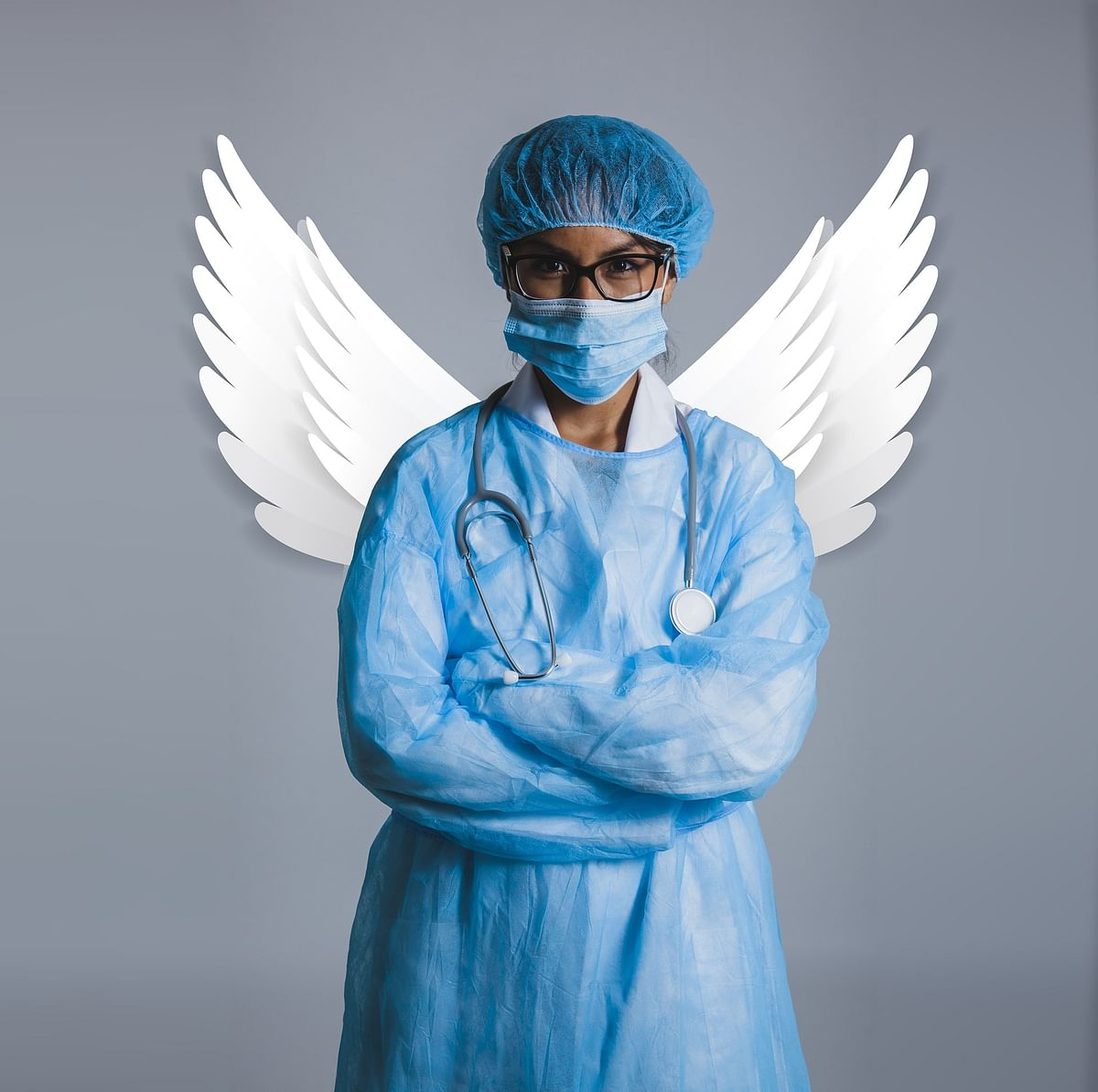 Doctors at the receiving end in a pandemic