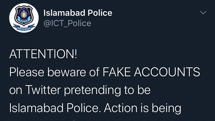 When Islamabad Police's 'fake' account liked this Indian RJ's pictures and left netizens in splits