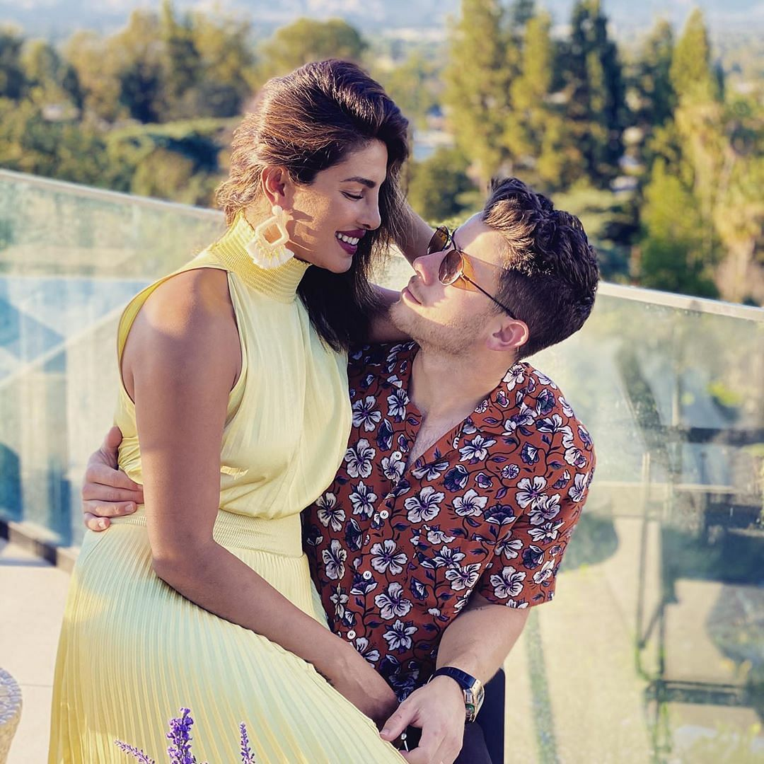 Nick Jonas extends birthday wishes to wife Priyanka Chopra, says 'I could stare into your eyes forever'