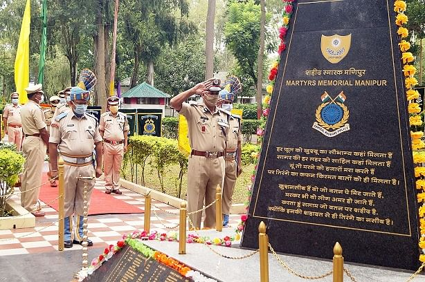 CRPF Group Centre, Imphal celebrates 82nd Raising day