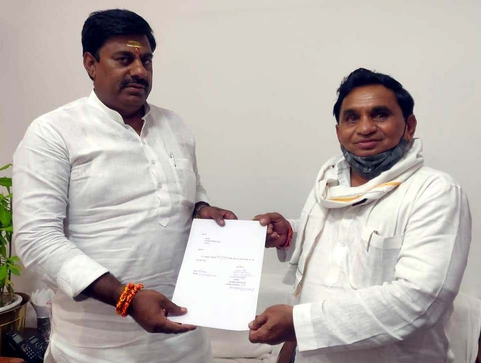Another Cong MLA joins BJP in MP