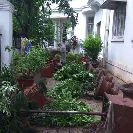 AAP demands action against culprits who vandalised Dr Ambedkar's home 'Rajgruha' in Mumbai