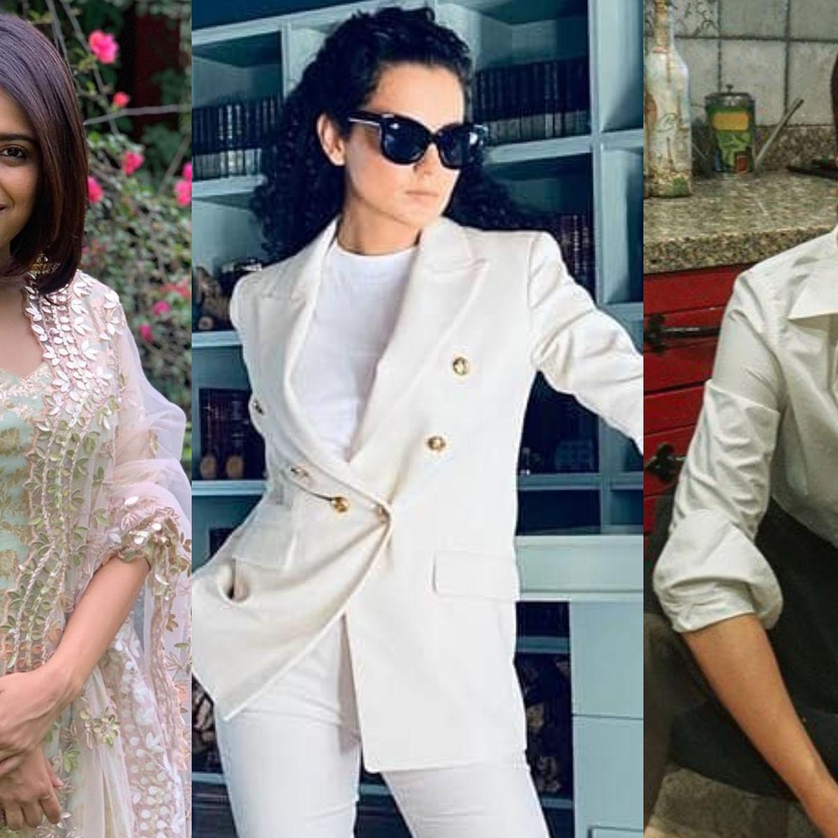 Swara Bhasker says 'very well said' Taapsee Pannu as the latter claps back at Kangana Ranaut