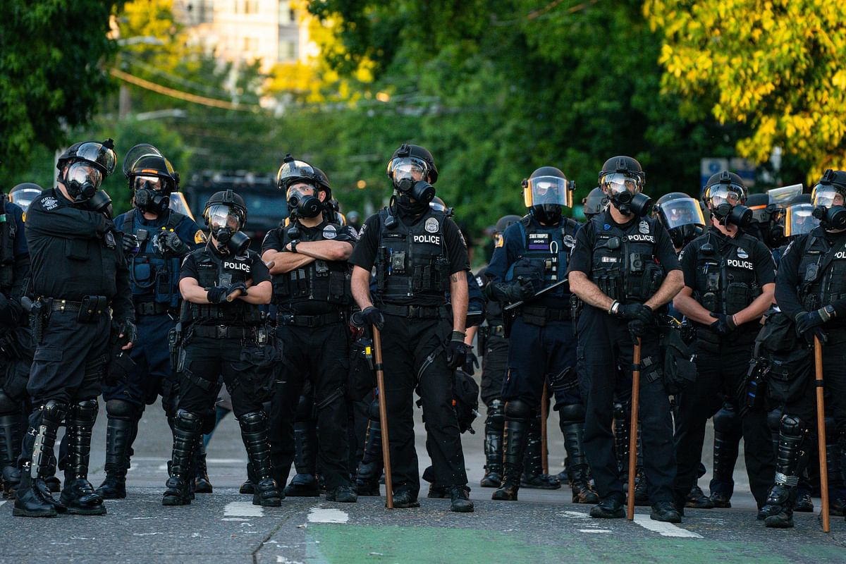 Unrest escalates in Portland as US agents use tear gas, flash bangs, pepper balls on protesters