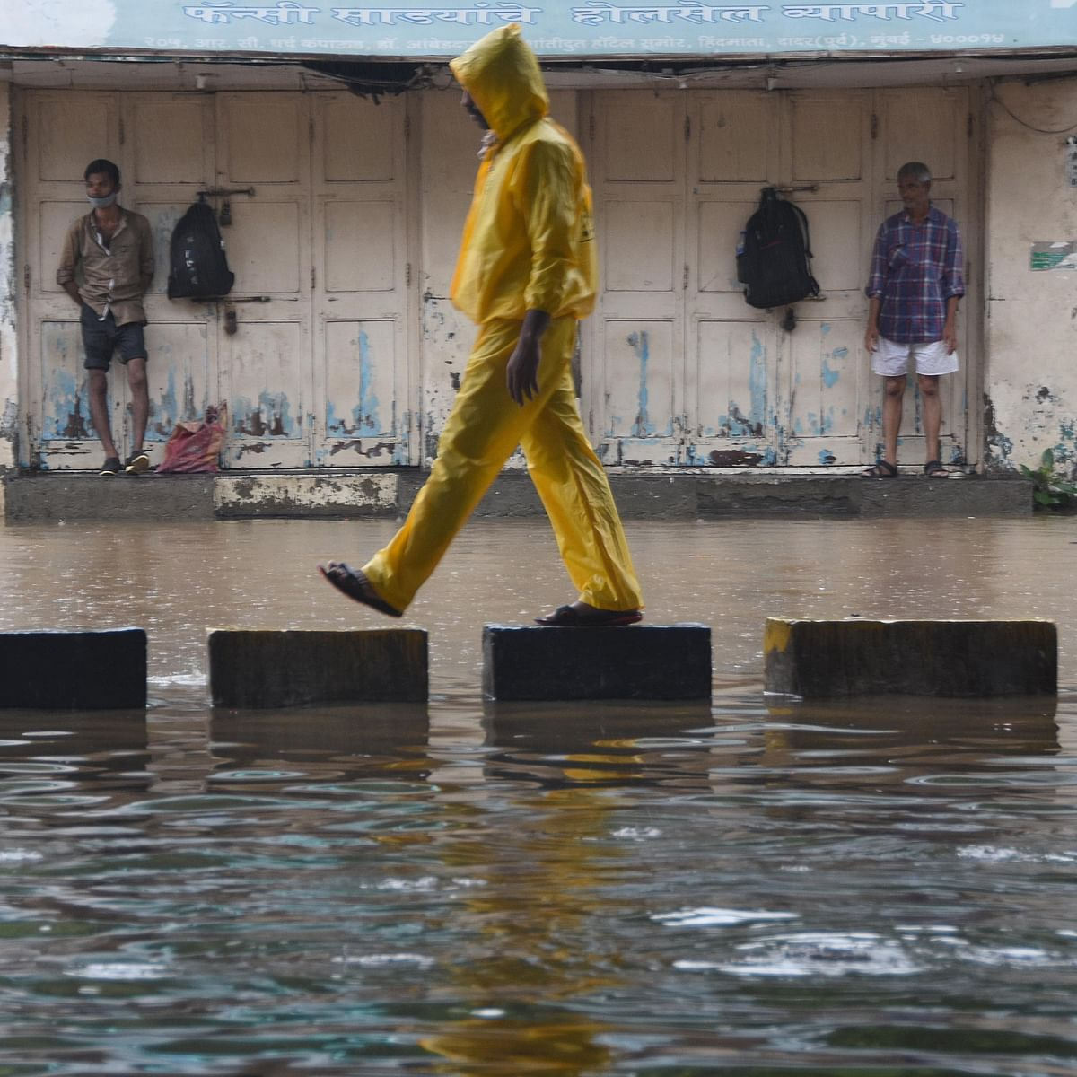 In Pictures: Mumbai lashed by heavy rains; flooding in Cuffe Parade, Worli, Dadar, Parel