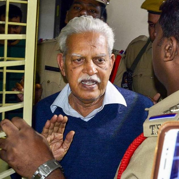 Bombay HC asks state if Varavara Rao's family can see him from 'distance' in COVID hospital