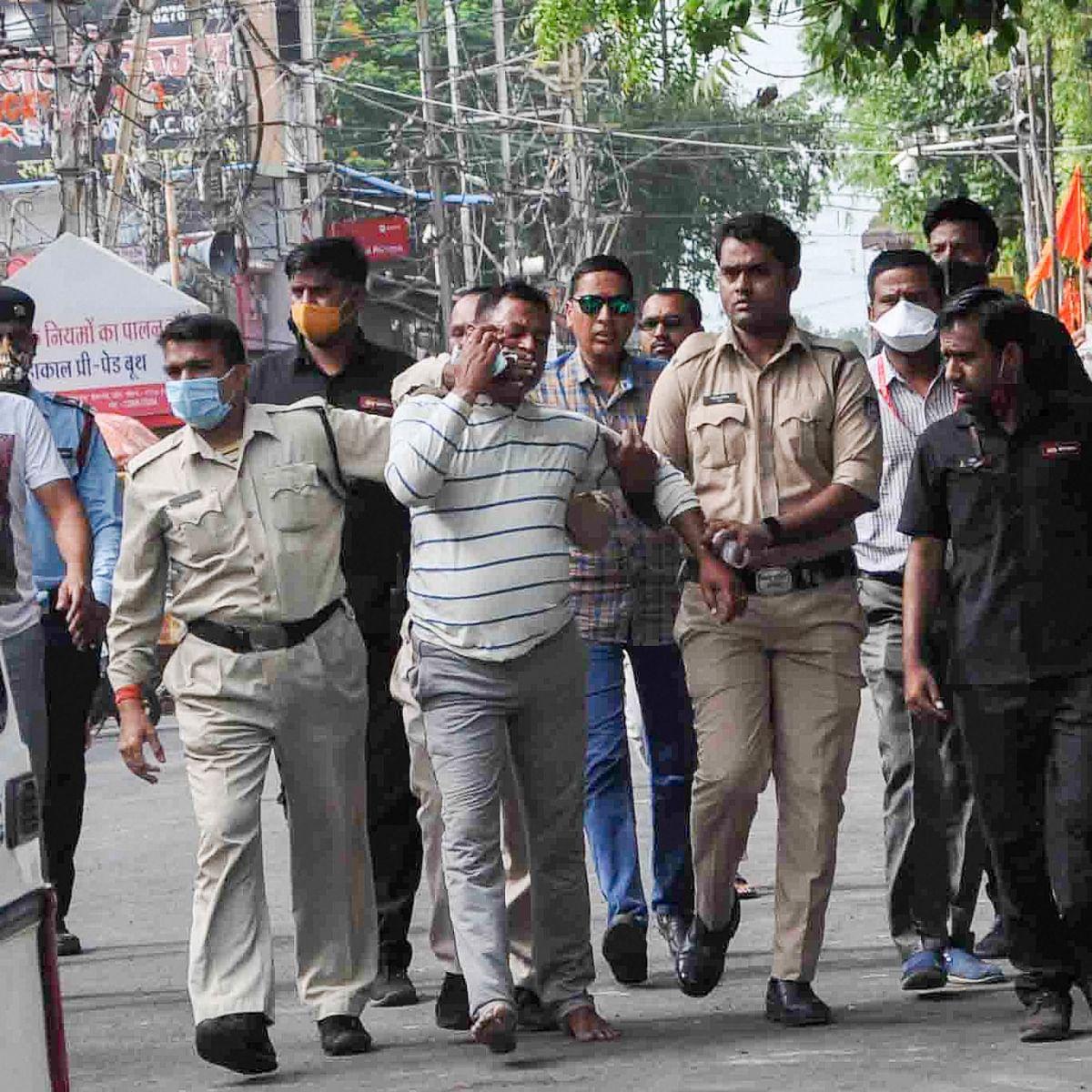 Madhya Pradesh: 2 Gwalior men held for harbouring gangster Vikas Dubey's aides