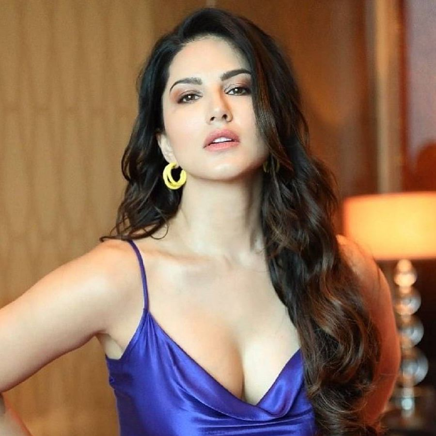 Sunny Leone is 'social distancing at the beach'