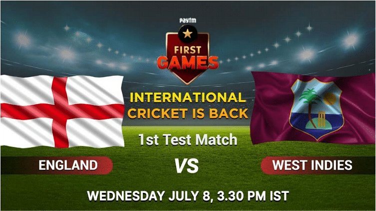 England vs West Indies: Paytm First Games Fantasy Prediction: 1st Test Match