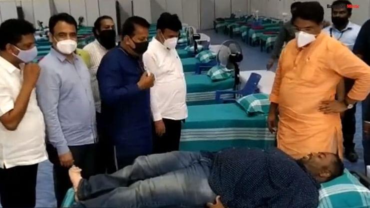 Karnataka BJP MLA fat-shames 'Corona Warrior' at Bengaluru COVID-19 facility