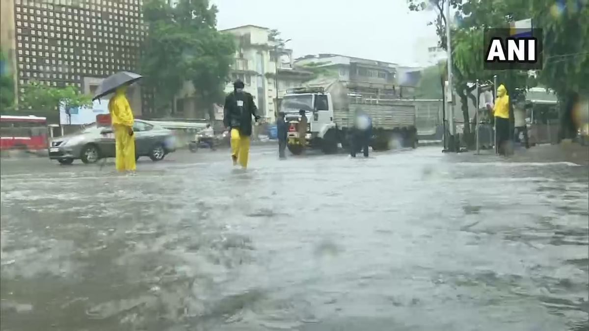 Mumbai Rains: Maximum City gets heavy showers, Dadar's Hindmata flooded