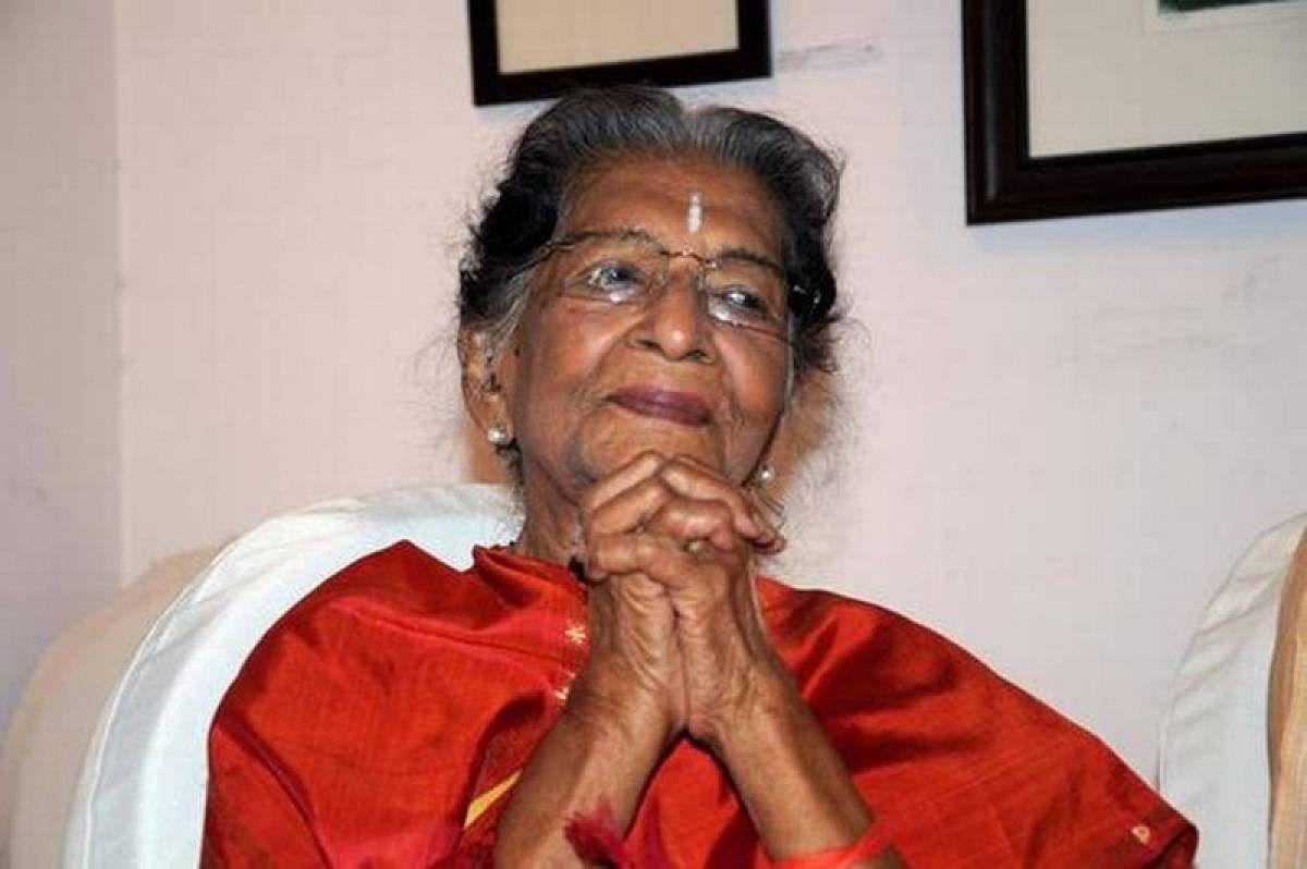 Renowned Eminent danseuse, choreographer Amala Shankar turns 100 today