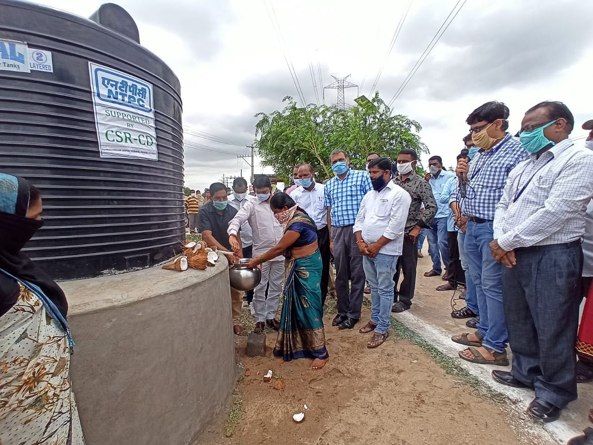 NTPC-Ramagundam comes up with facility for drinking water