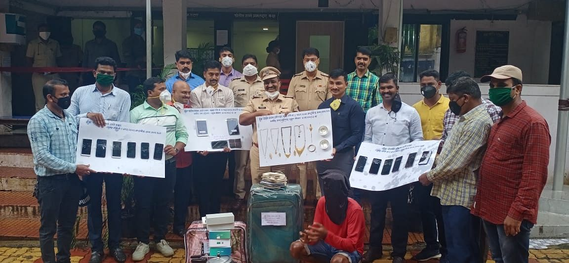 Thane Crime: Mumbra police solves three theft cases within a span of one month during lockdown