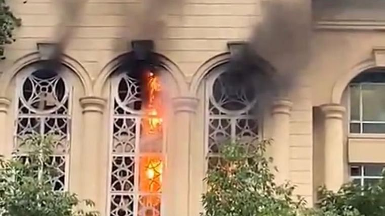 Mumbai: Level II fire at Delphi Building in Hirandani Garden, Powai