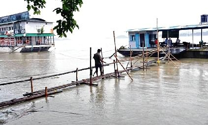 Assam toll 90; rain kills 5 in UP, Uttarakhand