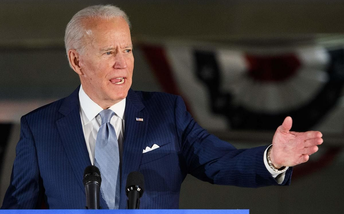 Joe Biden coasts to victory in New Jersey Democratic presidential primary