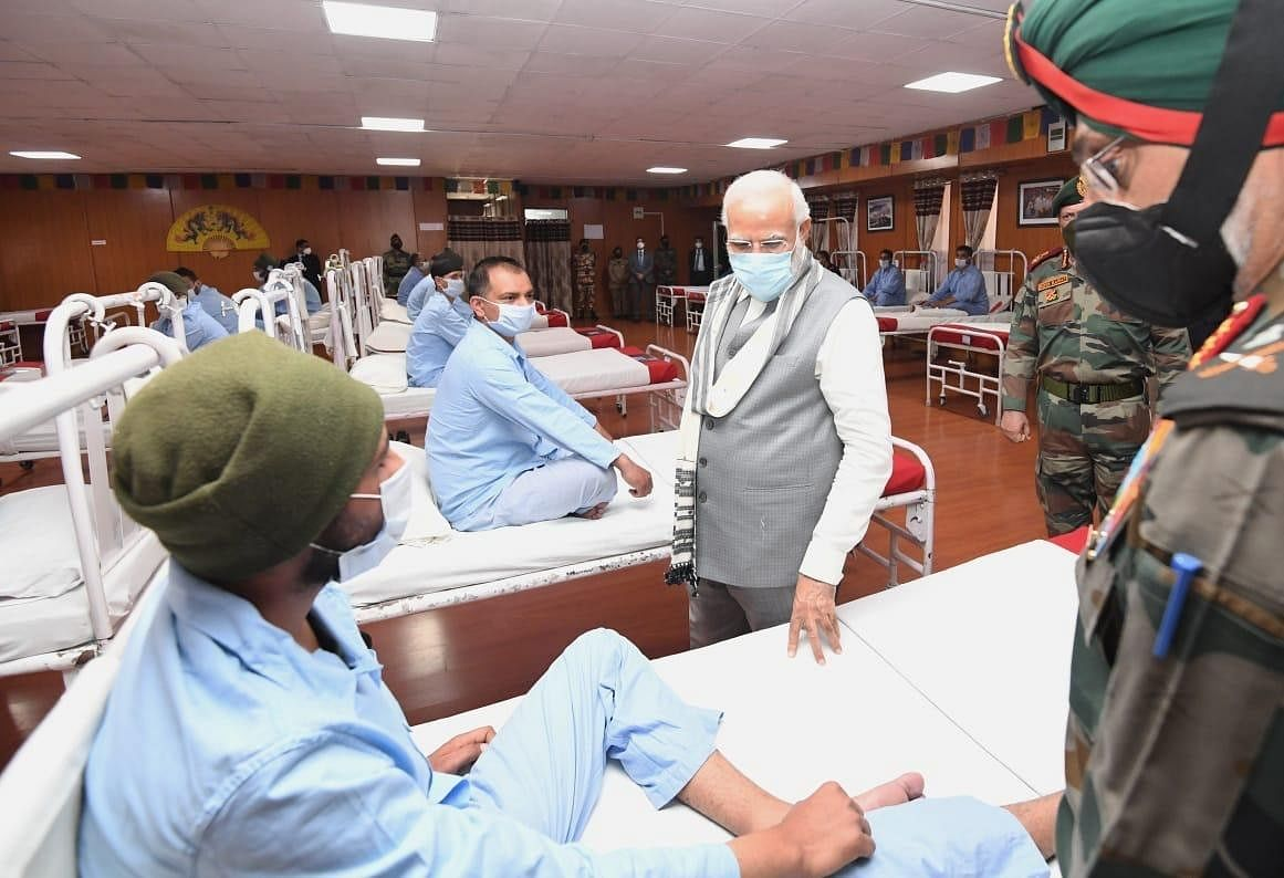 Was a fake hospital set up for PM Modi's Leh visit? Here's all you need to know
