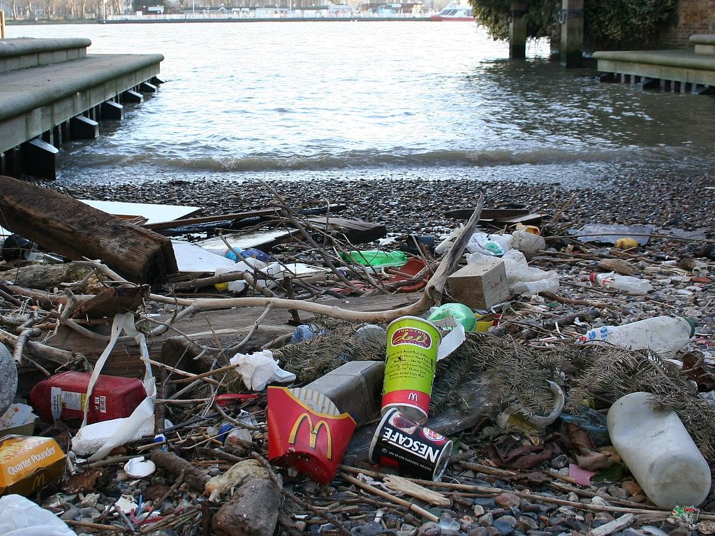 London's River Thames 'severely polluted with plastic'