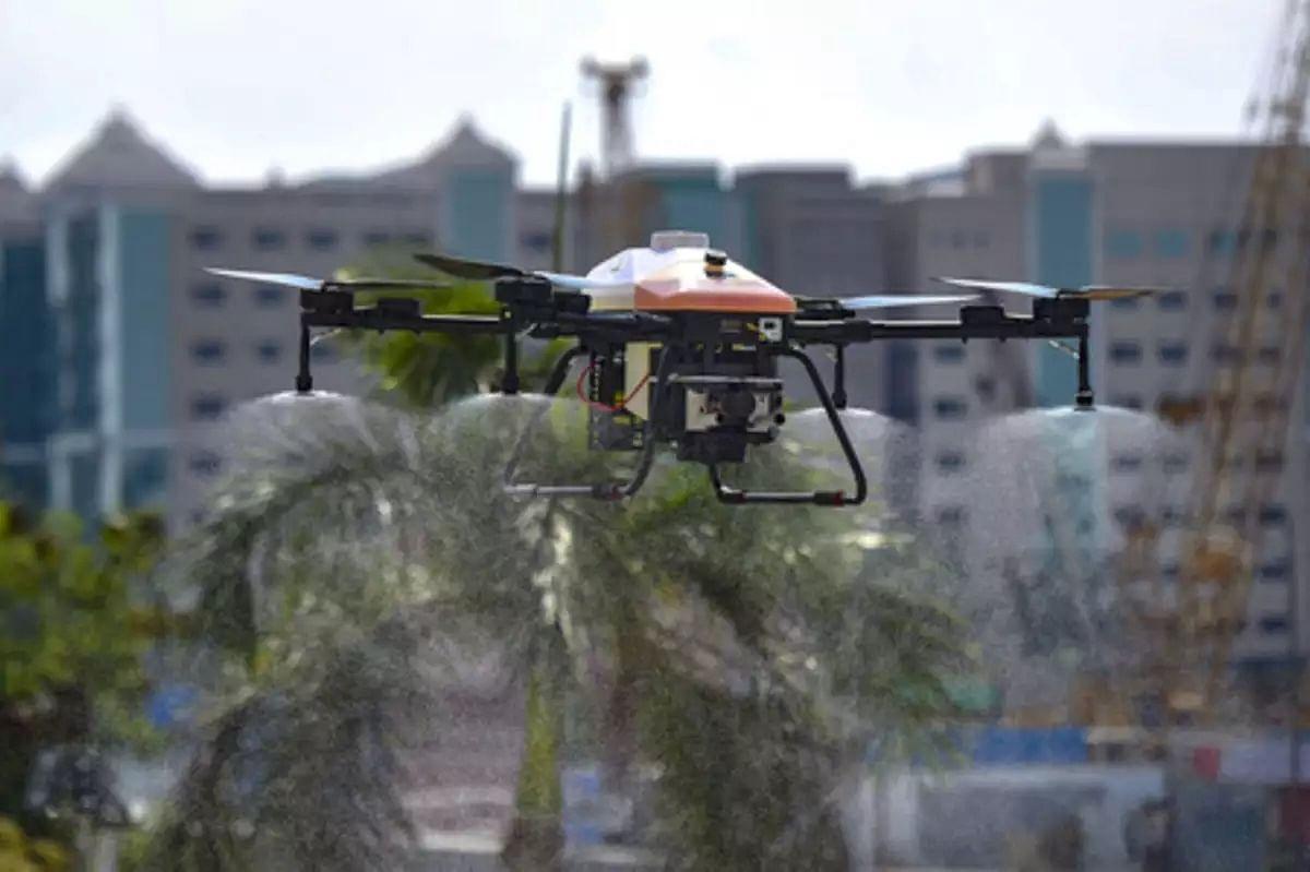 Coronavirus in Mumbai: Disinfecting drones to step in where human eye can't see