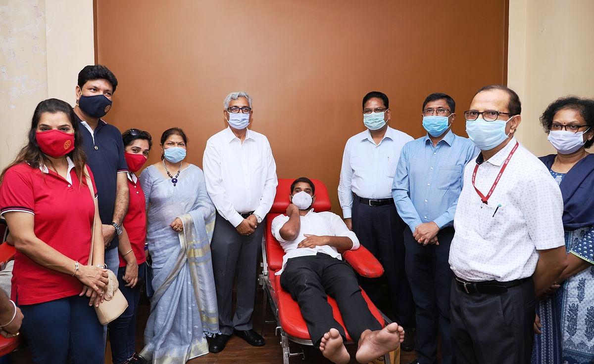 NHPC organises blood donation camp