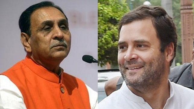 'Selling Gujarat's initiatives as your ideas...': Chief Minister Vijay Rupani hits out at Rahul Gandhi