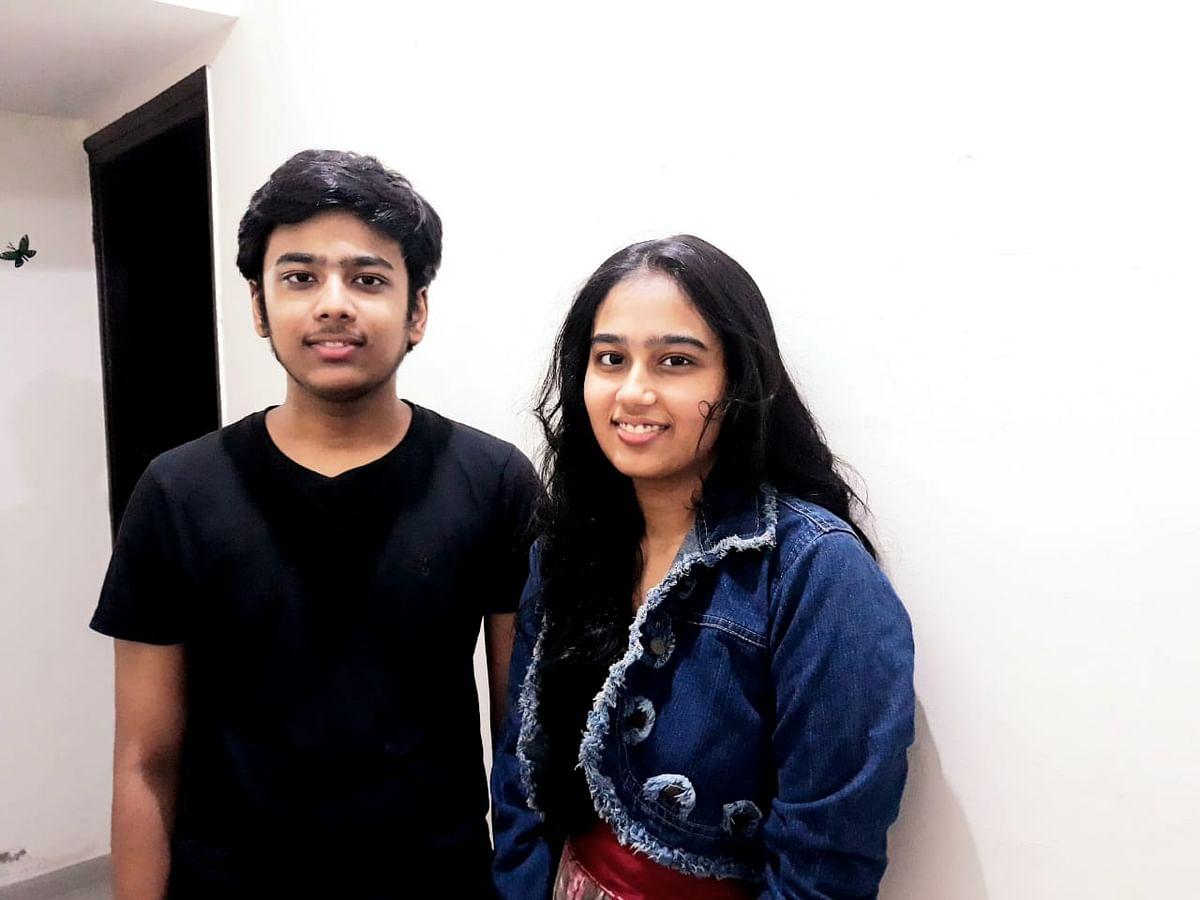 Mayank and Manya Sahai