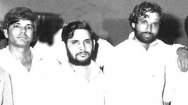 Lalu Prasad Yadav, Sharad Yadav and Ram Vilas Paswan