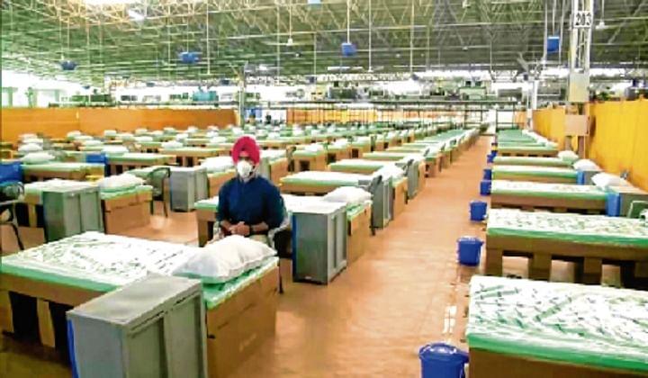 Delhi gets 10,000-bed Covid centre