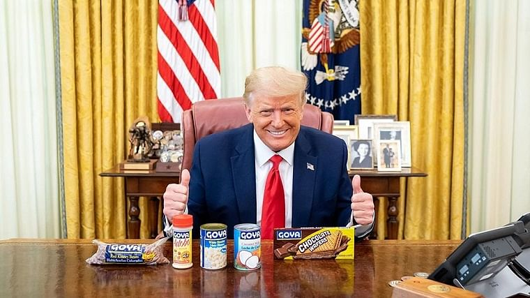 Thank you Mr President: Americans boycott Goya Foods after Trumps' backing in White House