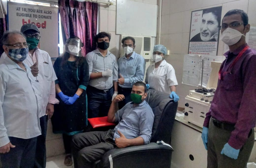 COVID-19-dedicated Vedant Hospital holds 1st convalescent plasma donation drive in Thane