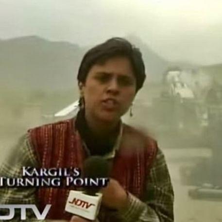 Kargil Vijay Diwas: Twitter user claims Barkha Dutt aired Tiger Hill assault live; journalist challenges notion