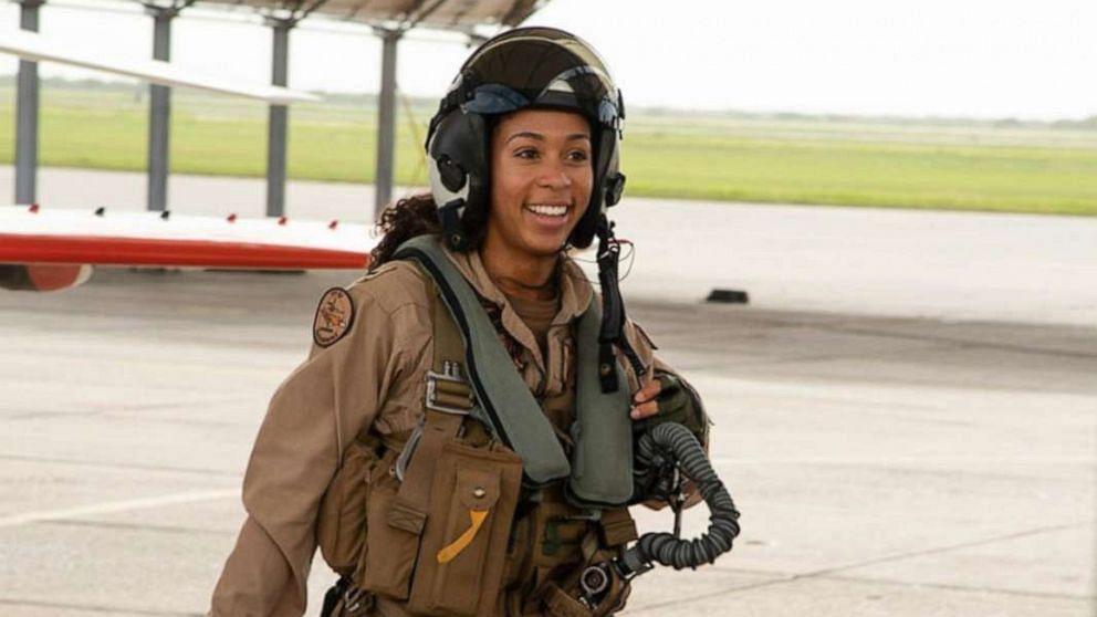 Meet US Navy's first black female fighter pilot