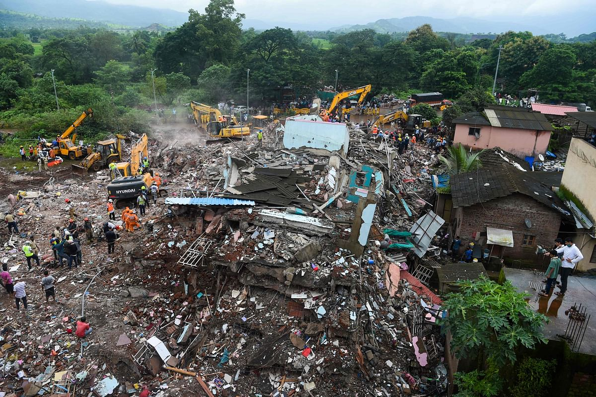 Mahad building collapse: 64-year-old searches for daughter, 3 grandkids