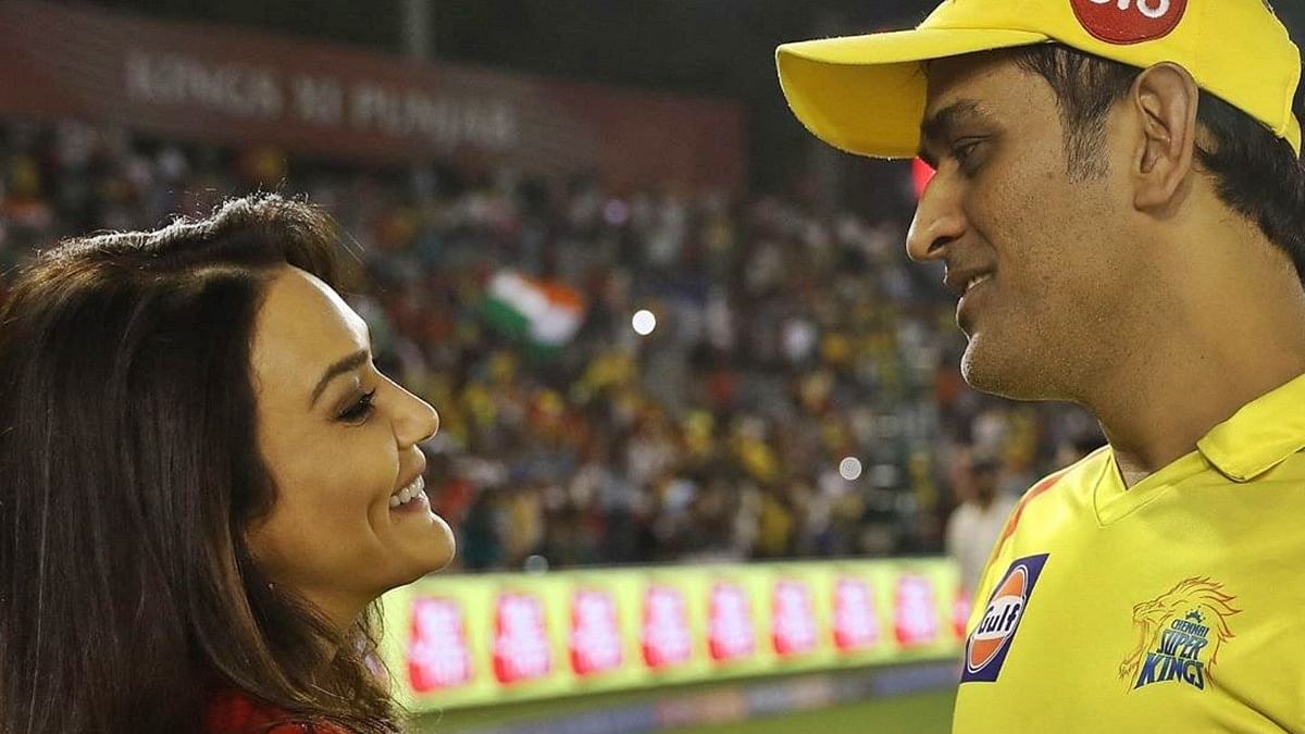 Better late than never: Preity Zinta tags the 'wrong' Mahi on Twitter while sharing fond memories of MS Dhoni