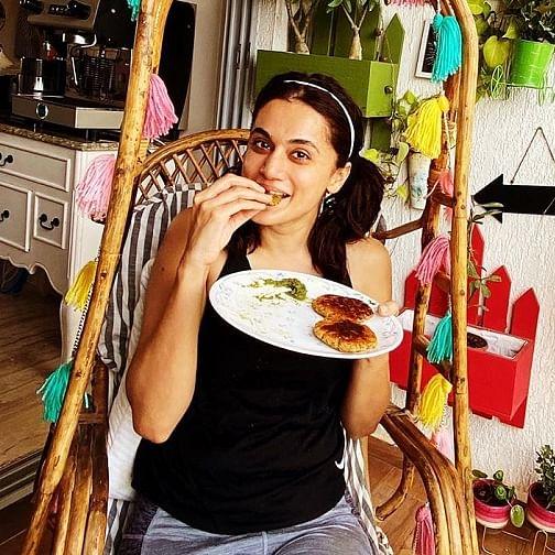 Taapsee Pannu's prep for 'Rashmi Rocket' including gorging on sweet potato tikkis