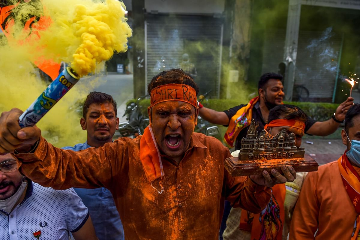 In pictures: How devotees across the country celebrated Ayodhya Bhoomi Pujan