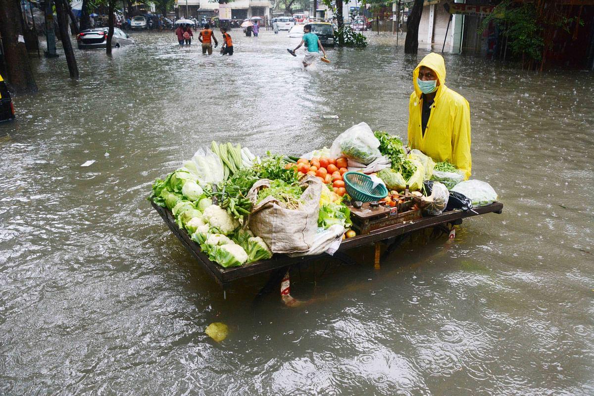 Water enters into homes at Gorai and Bandra promenade after heavy rains pound Mumbai