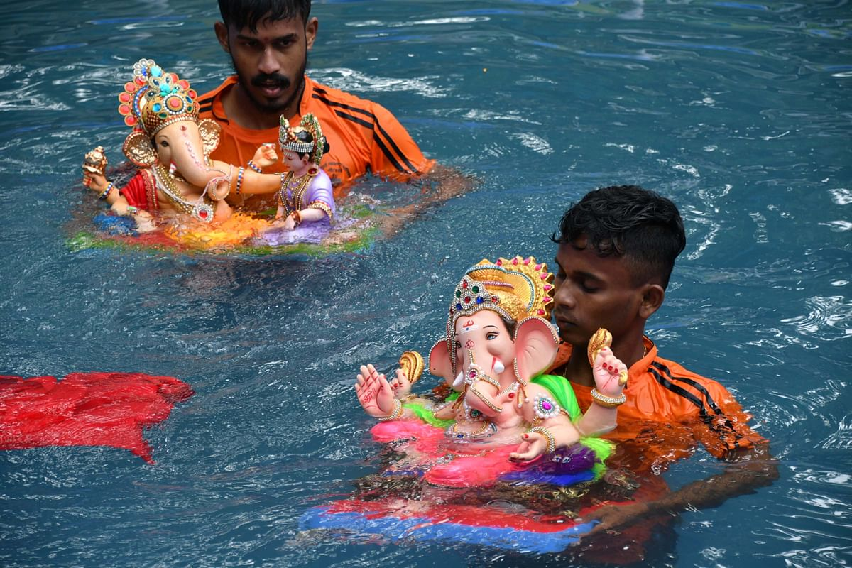Ganeshotsav 2020: Mumbai gears up for final immersion day amid COVID-19 pandemic
