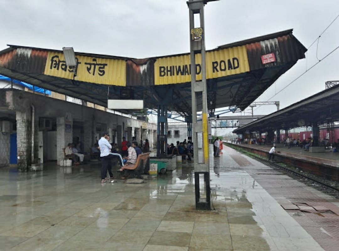 CR's new parcel & goods shed at Bhivandi Railway Station