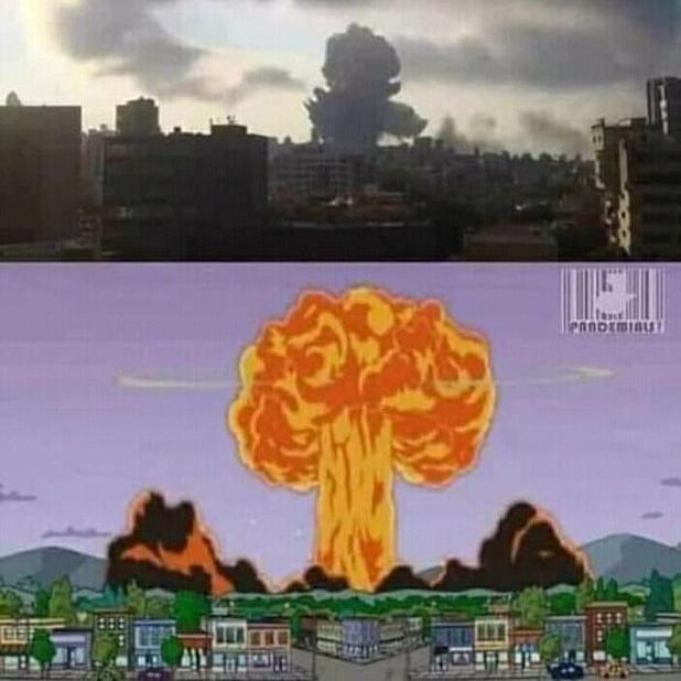 Did 'The Simpsons' predict Beirut explosion that killed over 70 people?