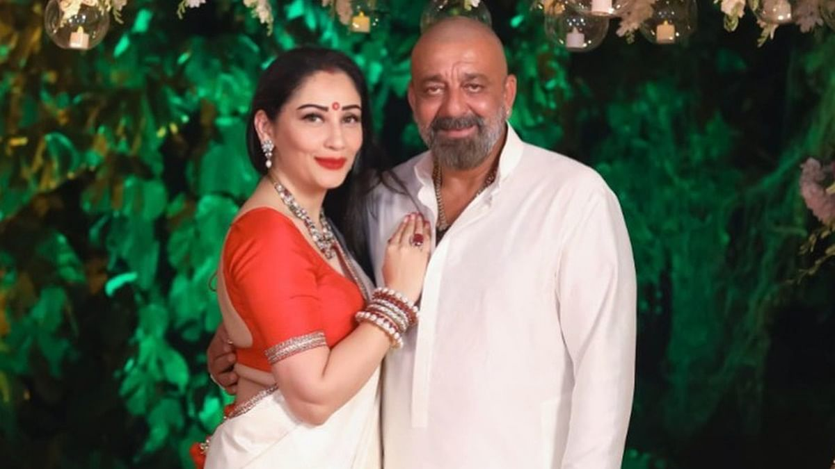 Sanjay and Maanayata Dutt