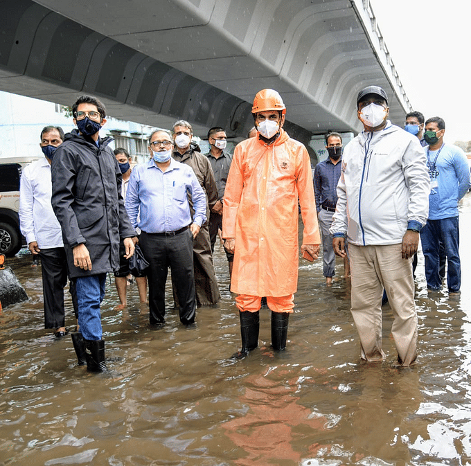 Mumbai Rains Live Updates: Aaditya Thackeray, BMC chief Chahal visit areas affected due to rains