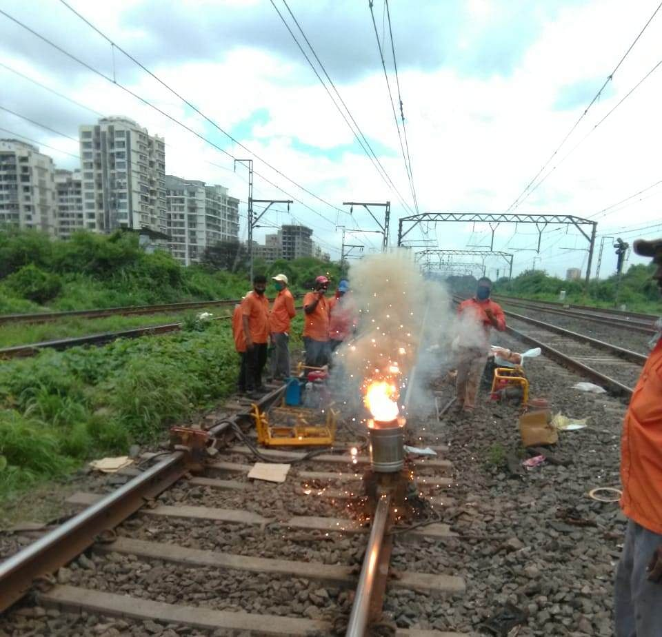 CR carries out maintenance works during Sunday mega block