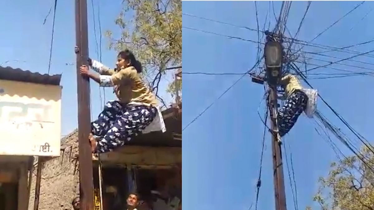 All India Radio's Twitter praise for woman electrician in Maharashtra's Beed backfires