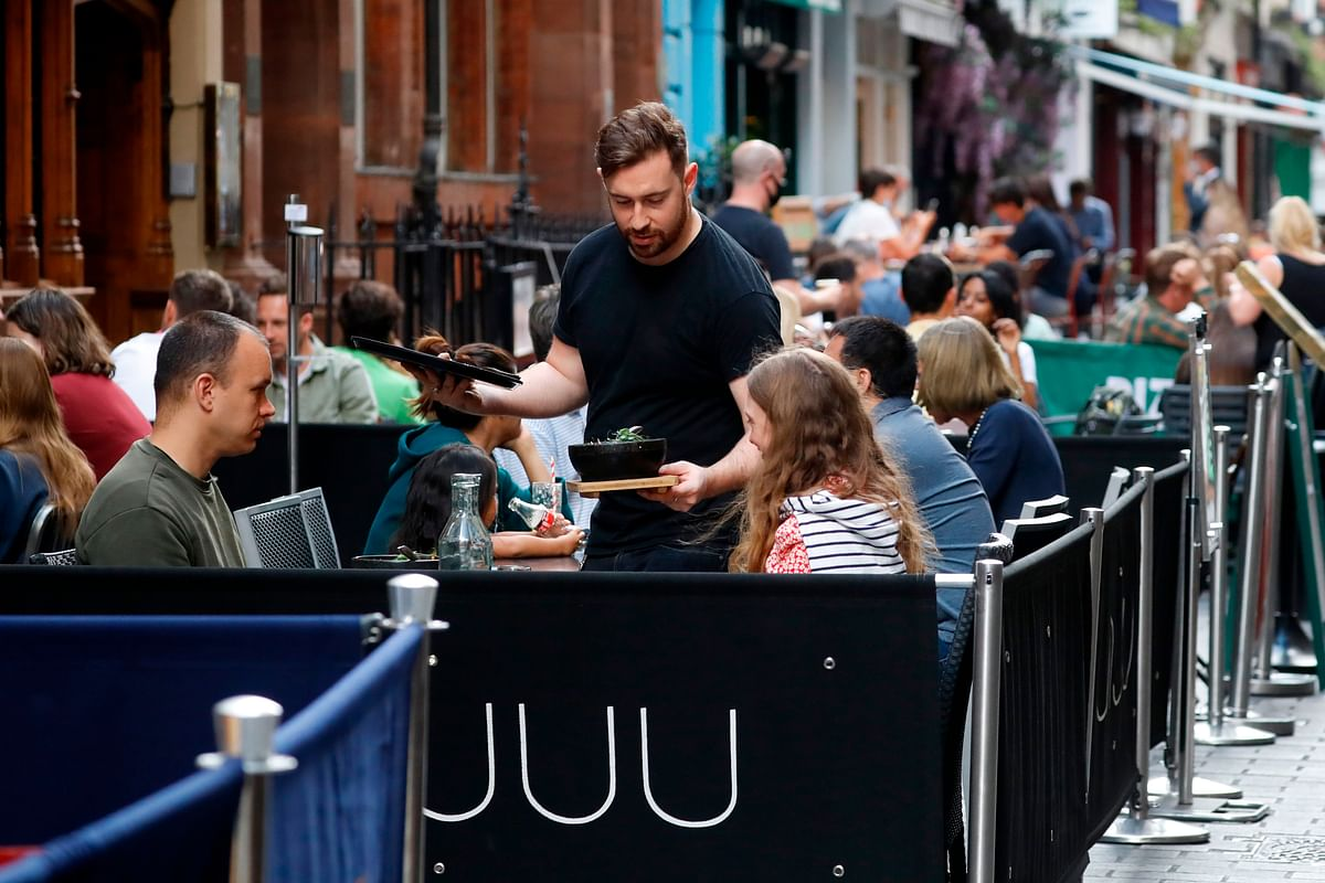 Britain kick-starts 'Eat out to help out' scheme