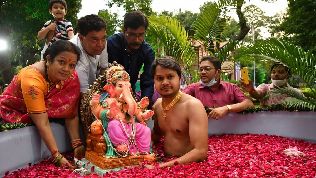 FPJ Eco Ganesha: Mumbai Mayor Kishori Pednekar bids adieu to Lord Ganesha